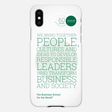 INSEAD Mission Phone Case